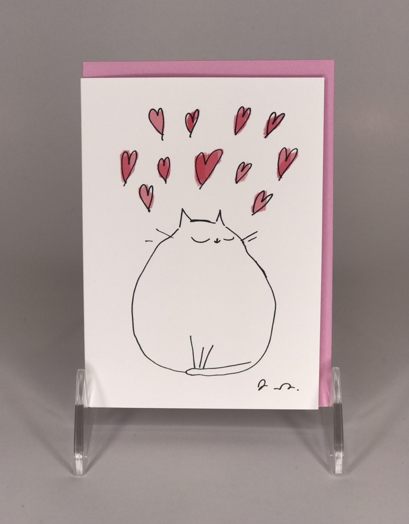 Card- Lotsa Love Cat