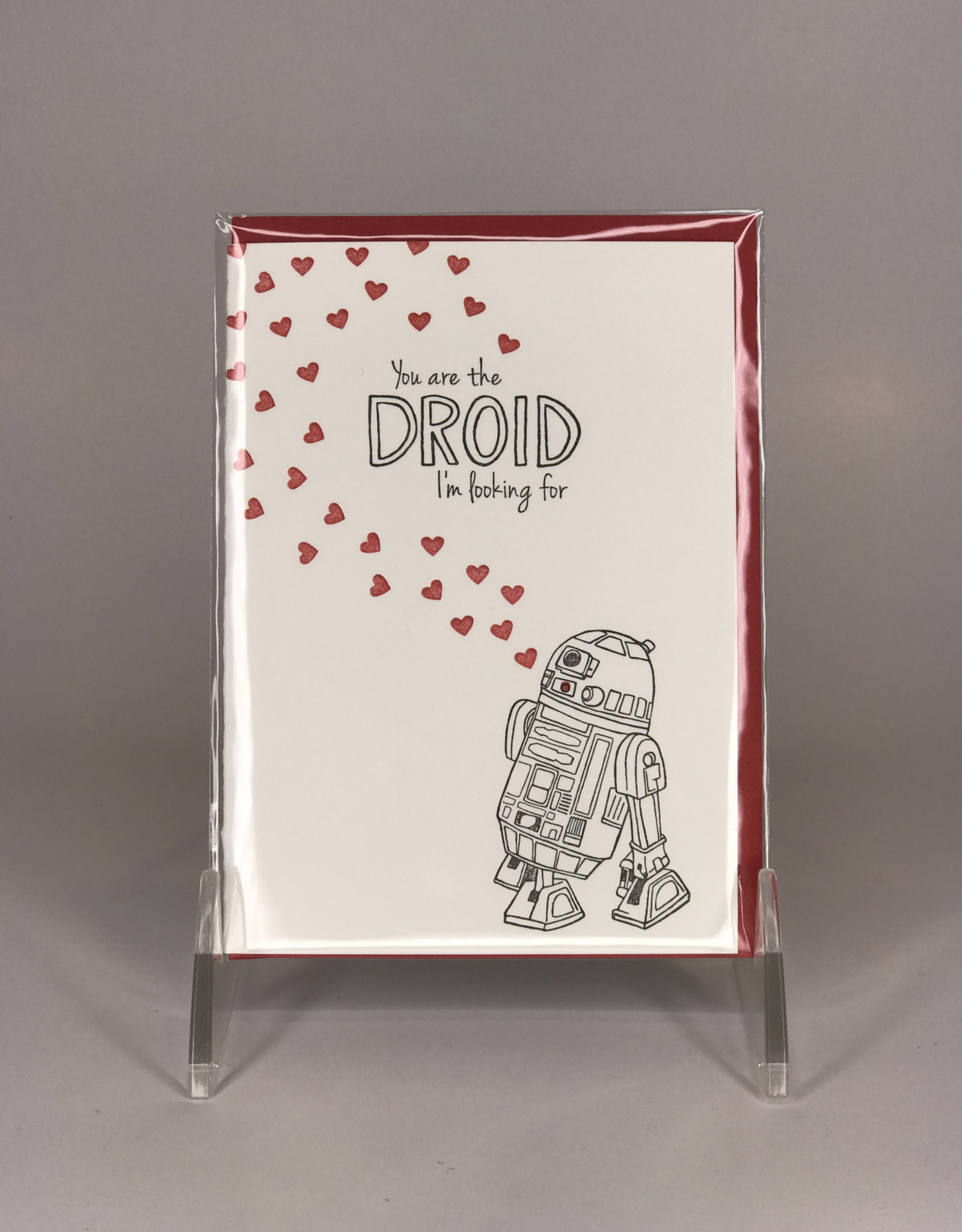 Ladybug Press Card- You're The Droid