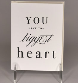 Kitty Meow Boutique Card- Biggest Heart
