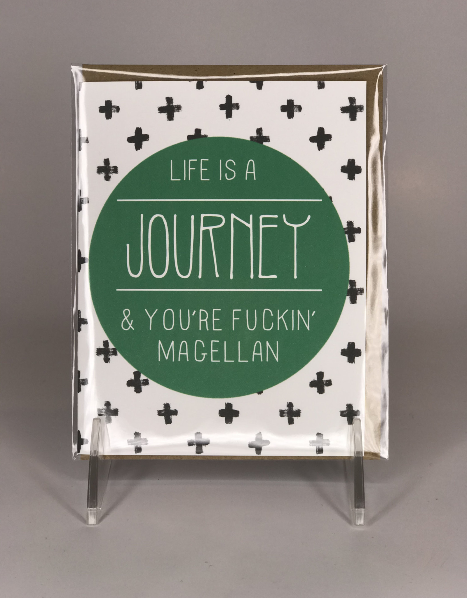 Card- Life Is A Journey