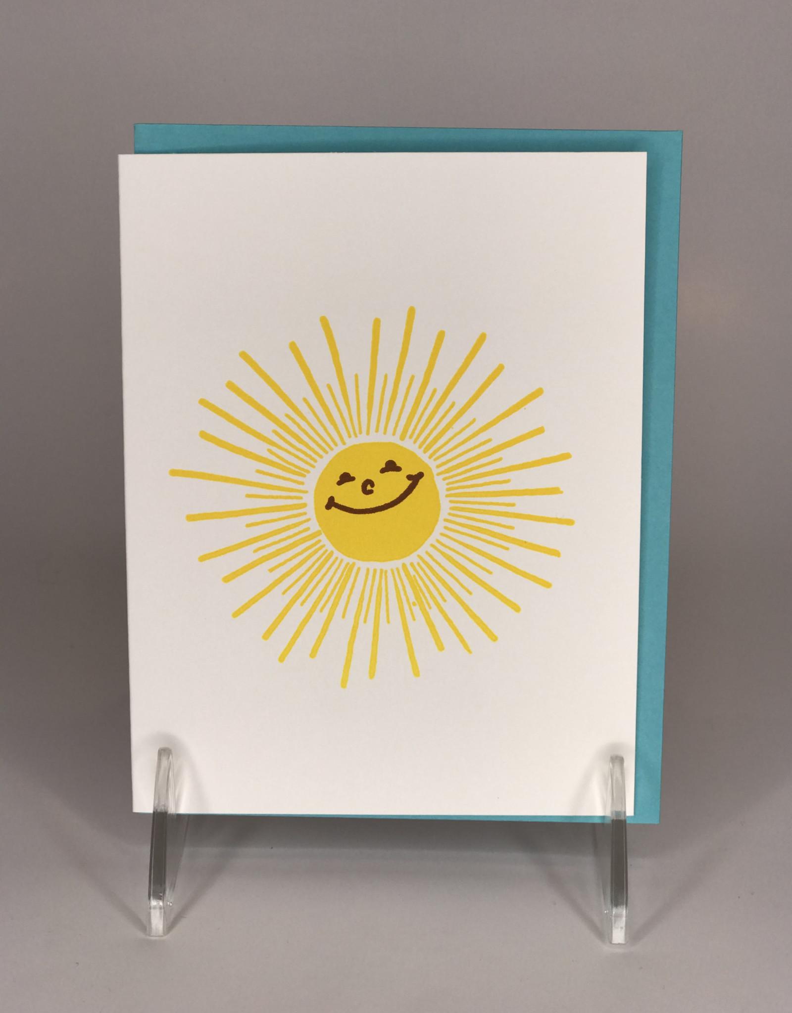Bench Pressed Card- Sunshine