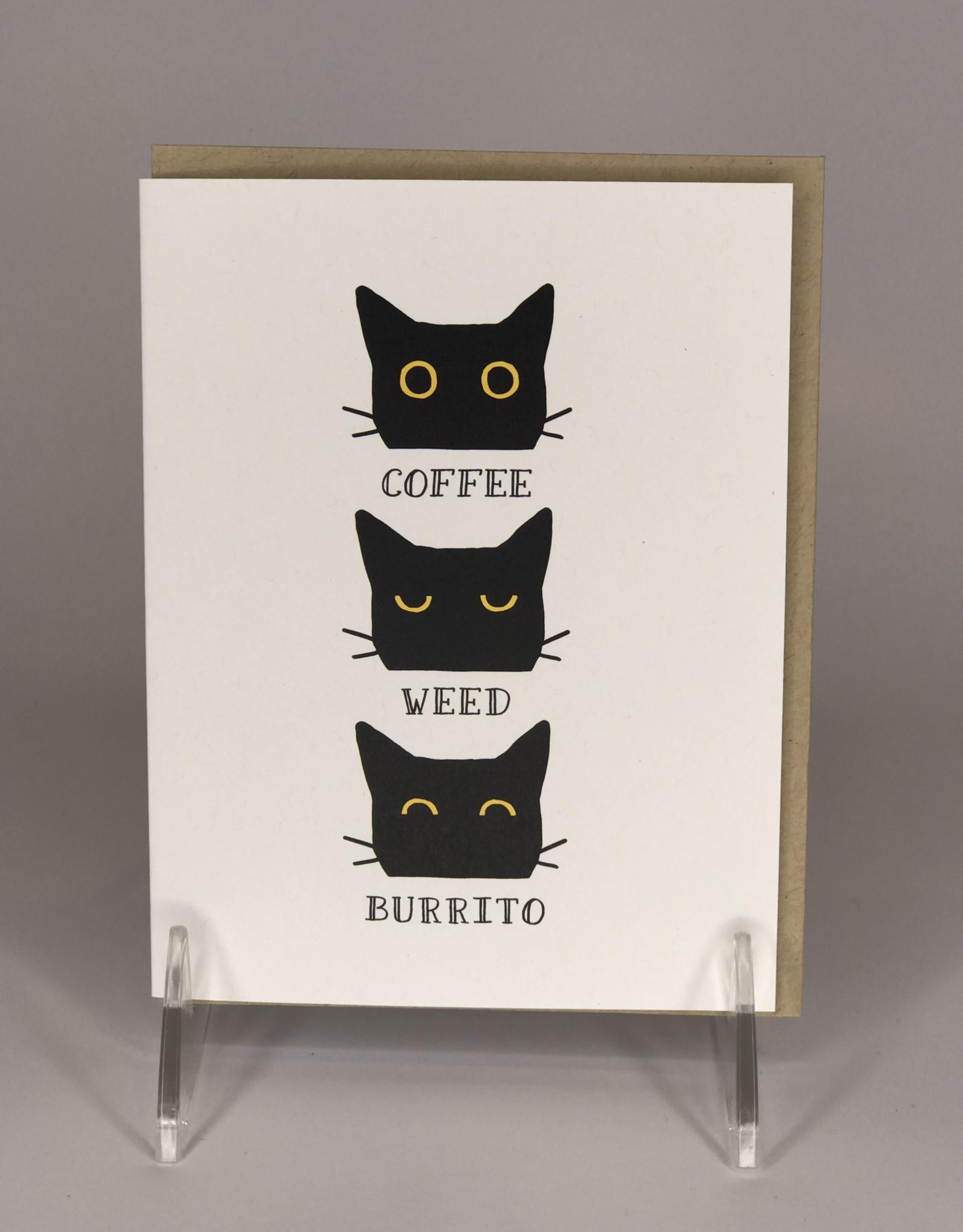 Card- Coffee Weed Burrito