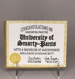 Noteworthy Paper & Press Card- Graduation, Smarty Pants