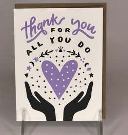 Worthwile Paper Card- Thank You For All You Do