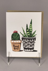 Card- Thank You, Potted Plant