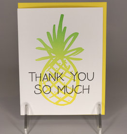 Lionheart Prints Card- Pineapple Thank You