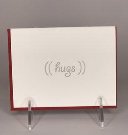 STEEL PETAL PRESS Card- Hugs