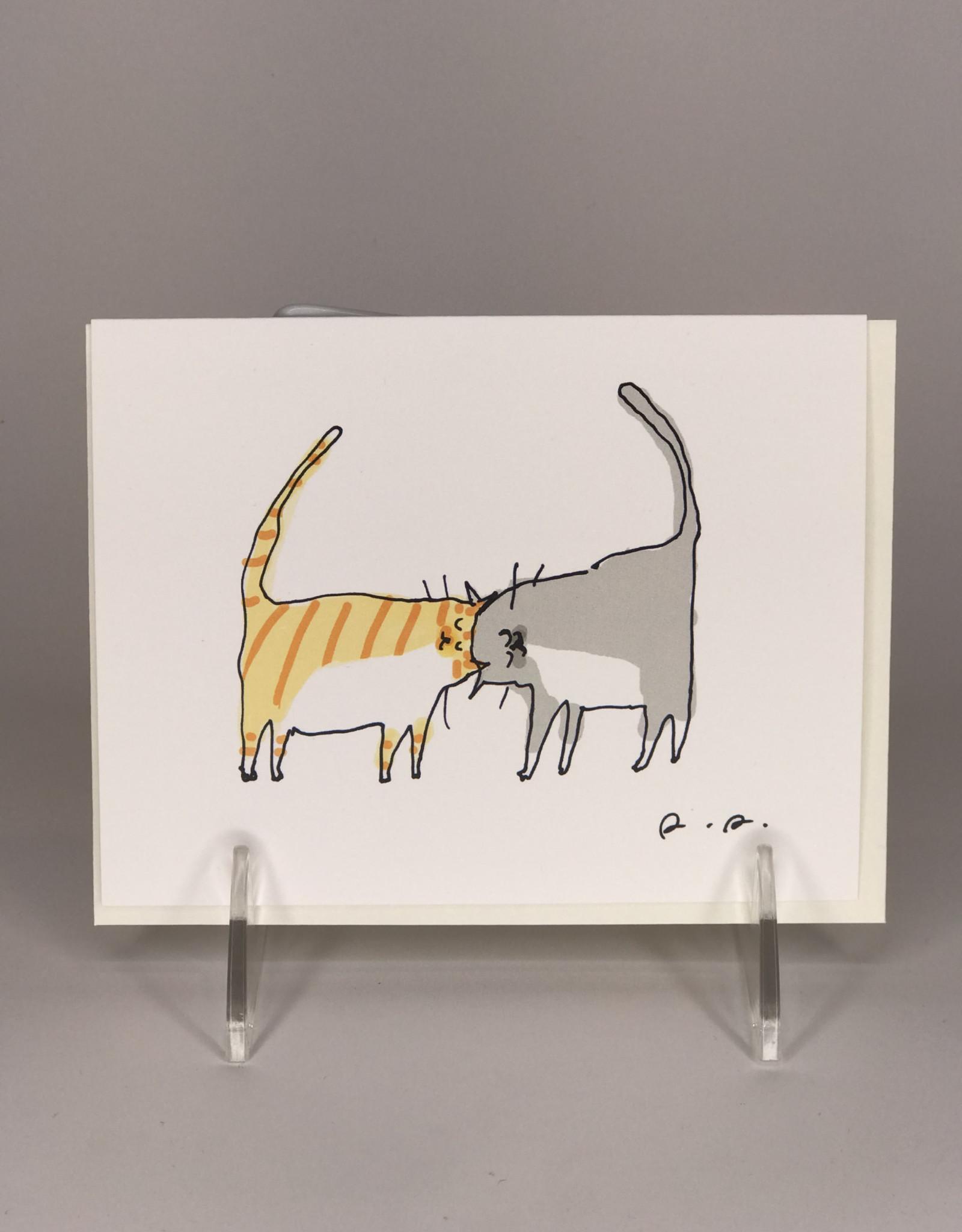 Card- Headbutt Cat