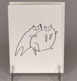 Card- Main Squeeze Cat