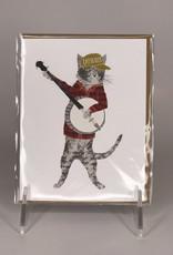 Paper Wolf Card- Catskills