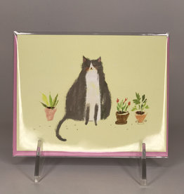 Card- Thinking of You Cat Plant
