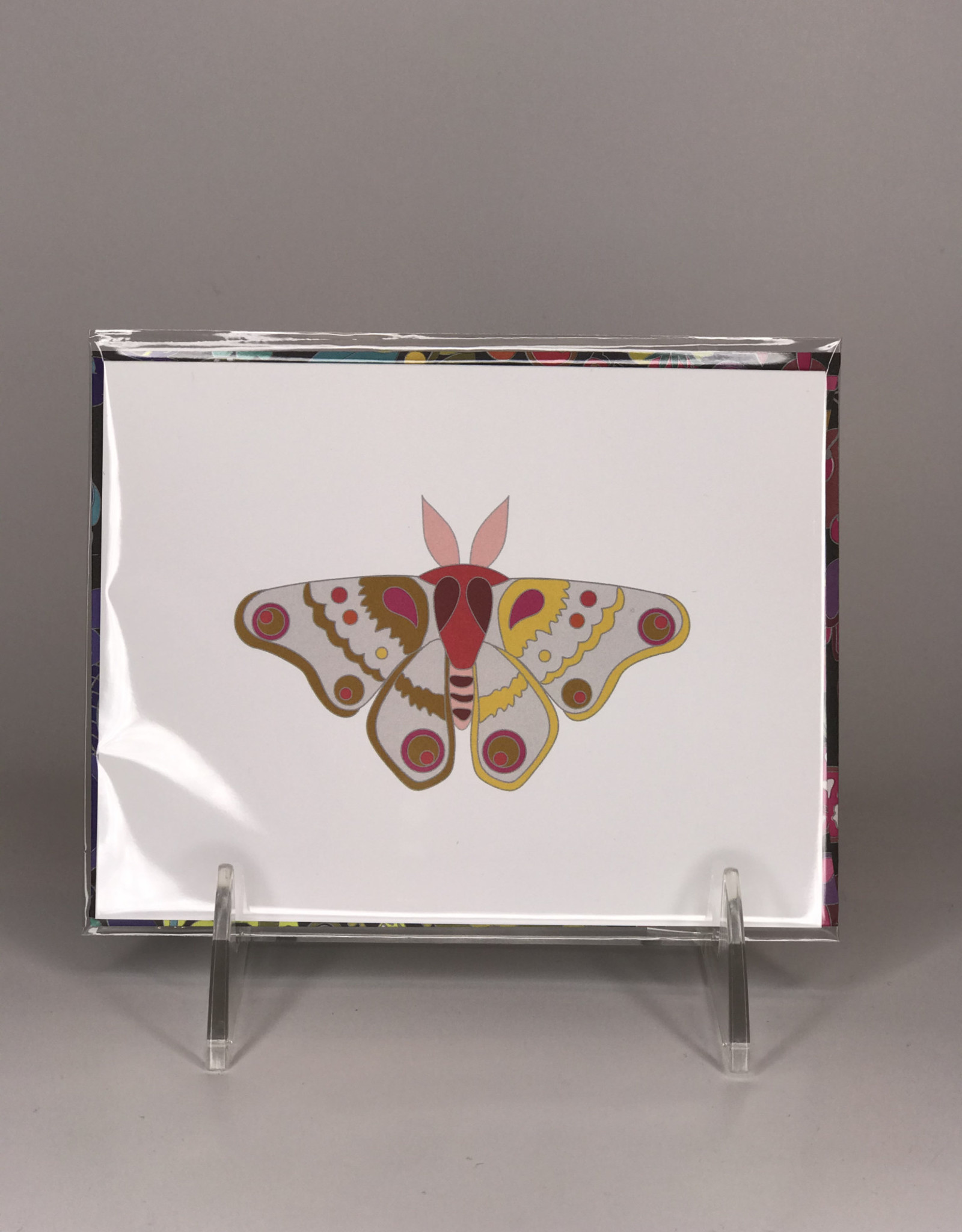 Alison Glass Card- Moth