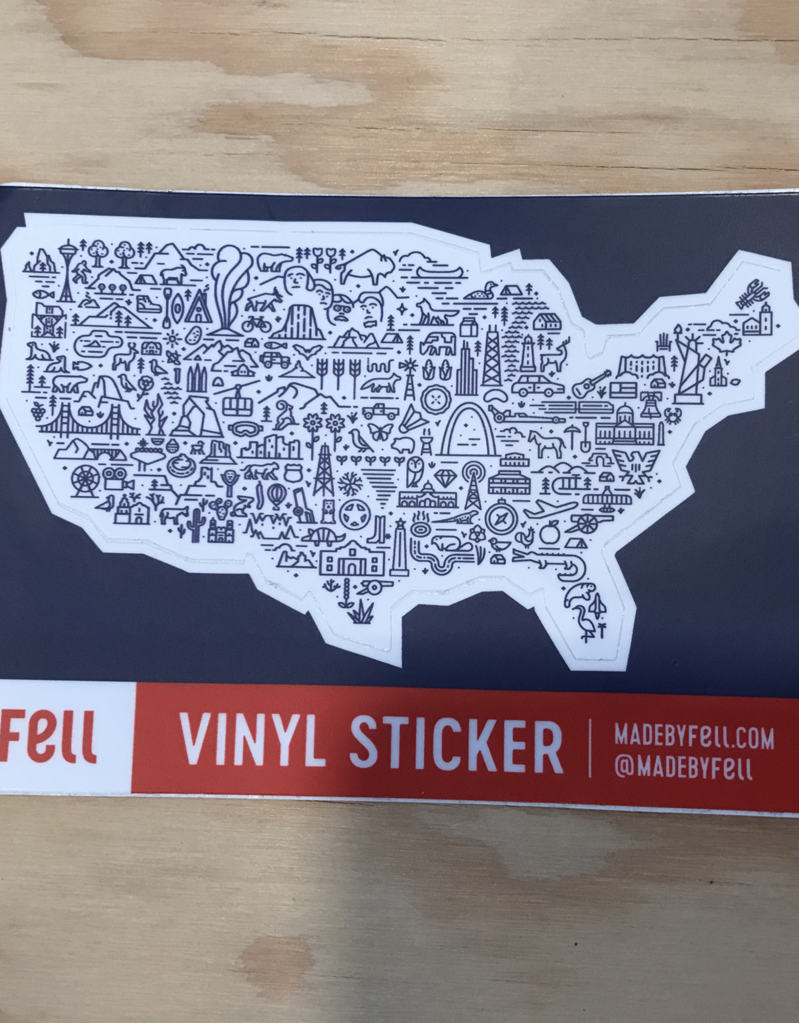 Fell Sticker- MOA