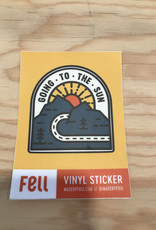 Fell Sticker- Going To The Sun Road