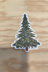The Happy Sea Sticker- Mosaic, Pine Tree
