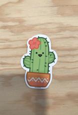 Free Period Press Sticker- Cactus