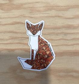 The Happy Sea Sticker- Mosaic, Fox