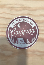 Stickers Northwest Sticker- I'd Rather Be Camping