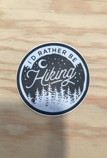 Stickers Northwest Sticker- I'd Rather Be Hiking