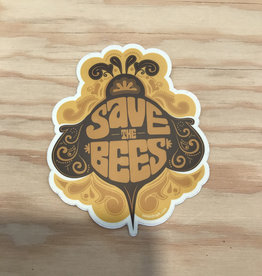 Amanda Weedmark Sticker- Save The Bees