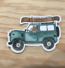 Sticker- Jeep and Bear