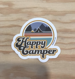Amanda Weedmark Sticker- Happy Camper