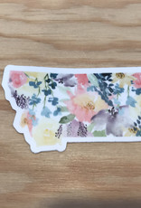 Wildflower Paper Co Sticker- Montana Floral