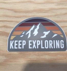 Stickers Northwest Sticker- Keep Exploring