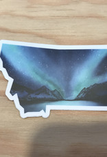Wildflower Paper Co Sticker- Montana Northern Lights