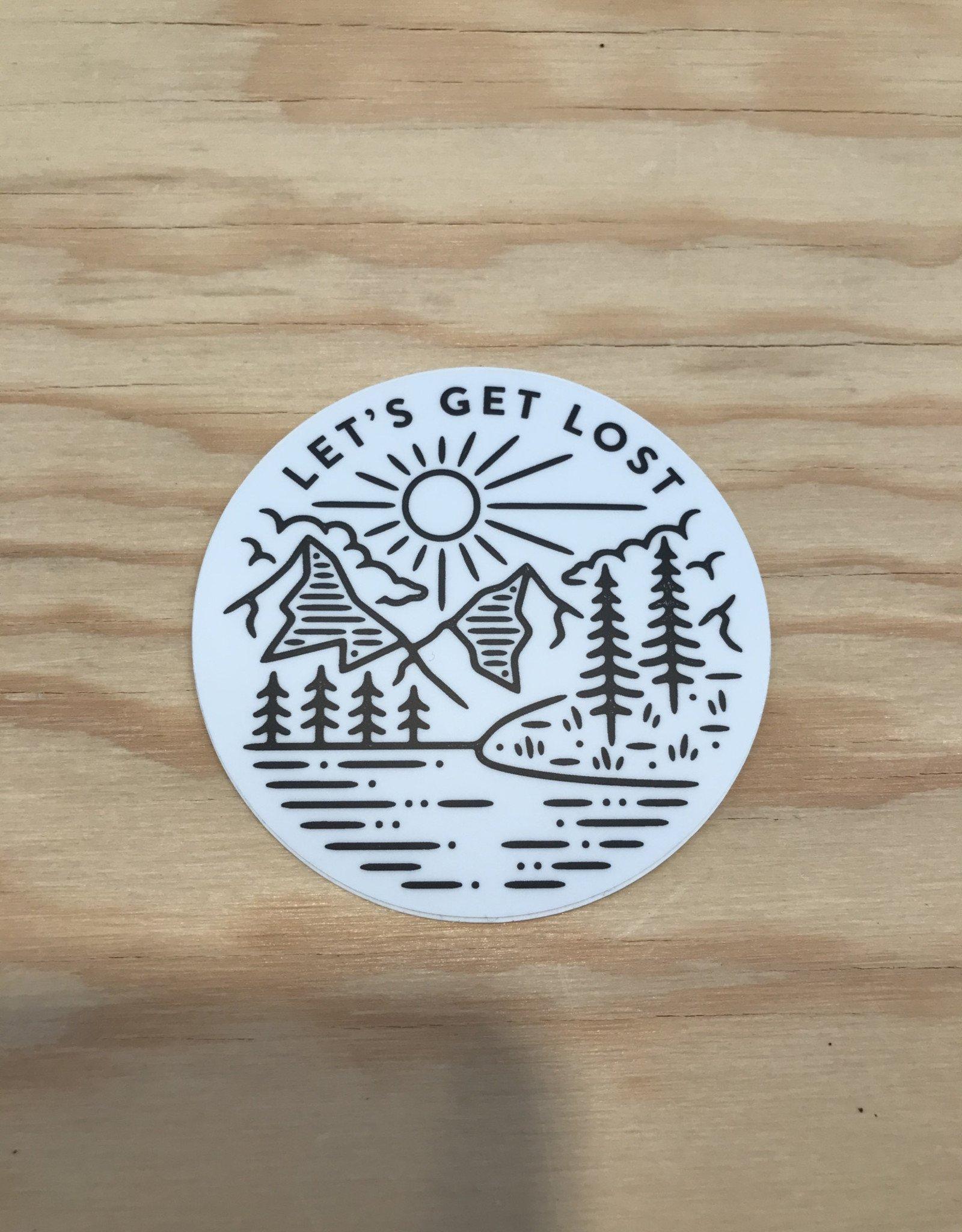 Stickers Northwest Sticker- Let's Get Lost