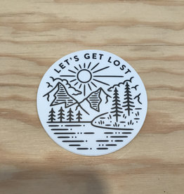 Stickers Northwest Sticker- Let's Get Lost