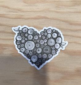 """Wild Slice Sticker- Wild Heart 3"""""""