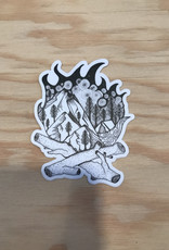 Wild Slice Sticker- Campfire 3""