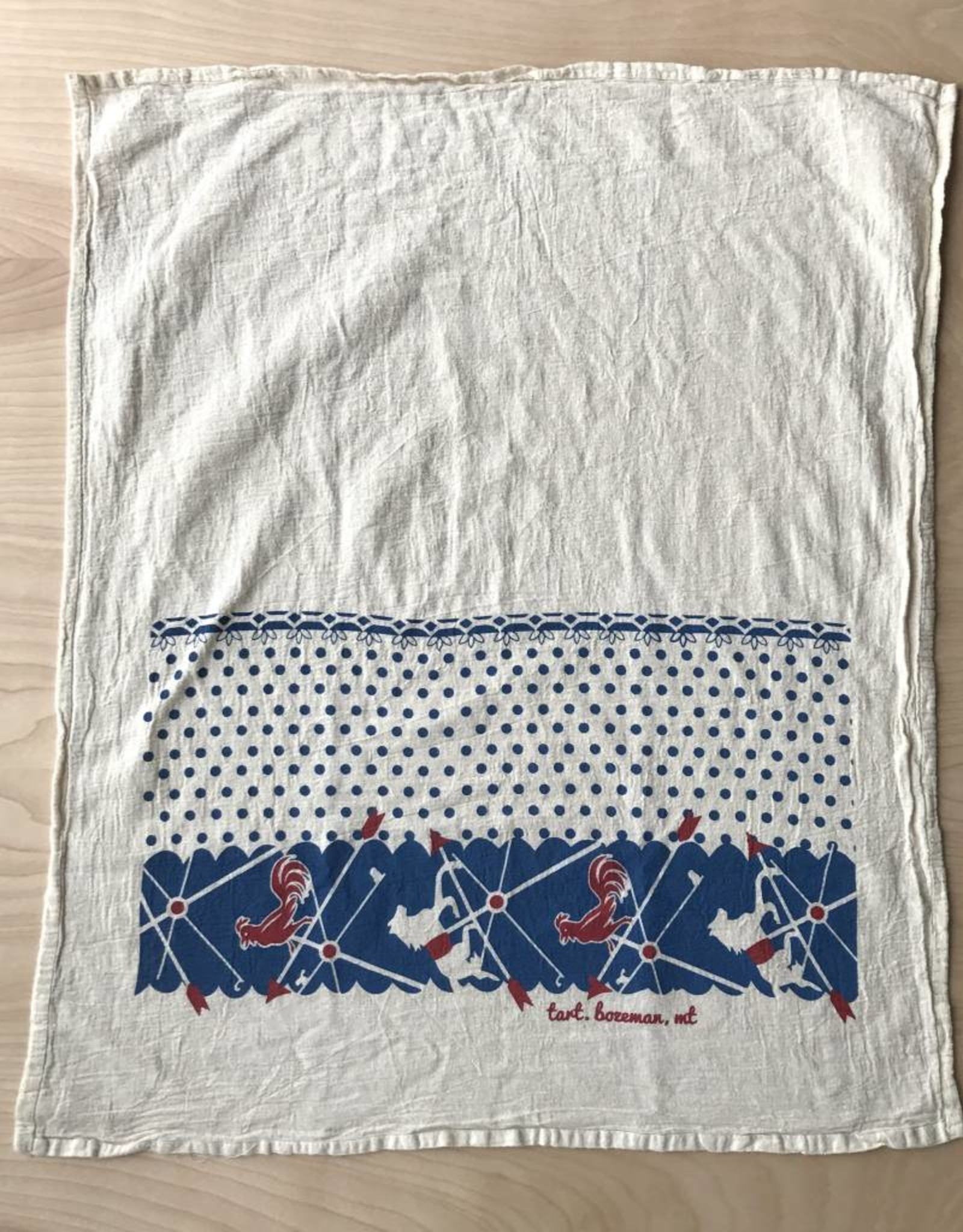 Tea Towel- Rooster
