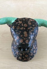 Blue Rooster Arts Paper Mache Bull