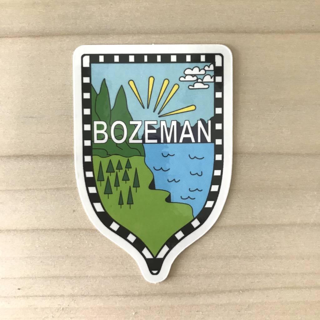 Sticker- Bozeman Sunrise