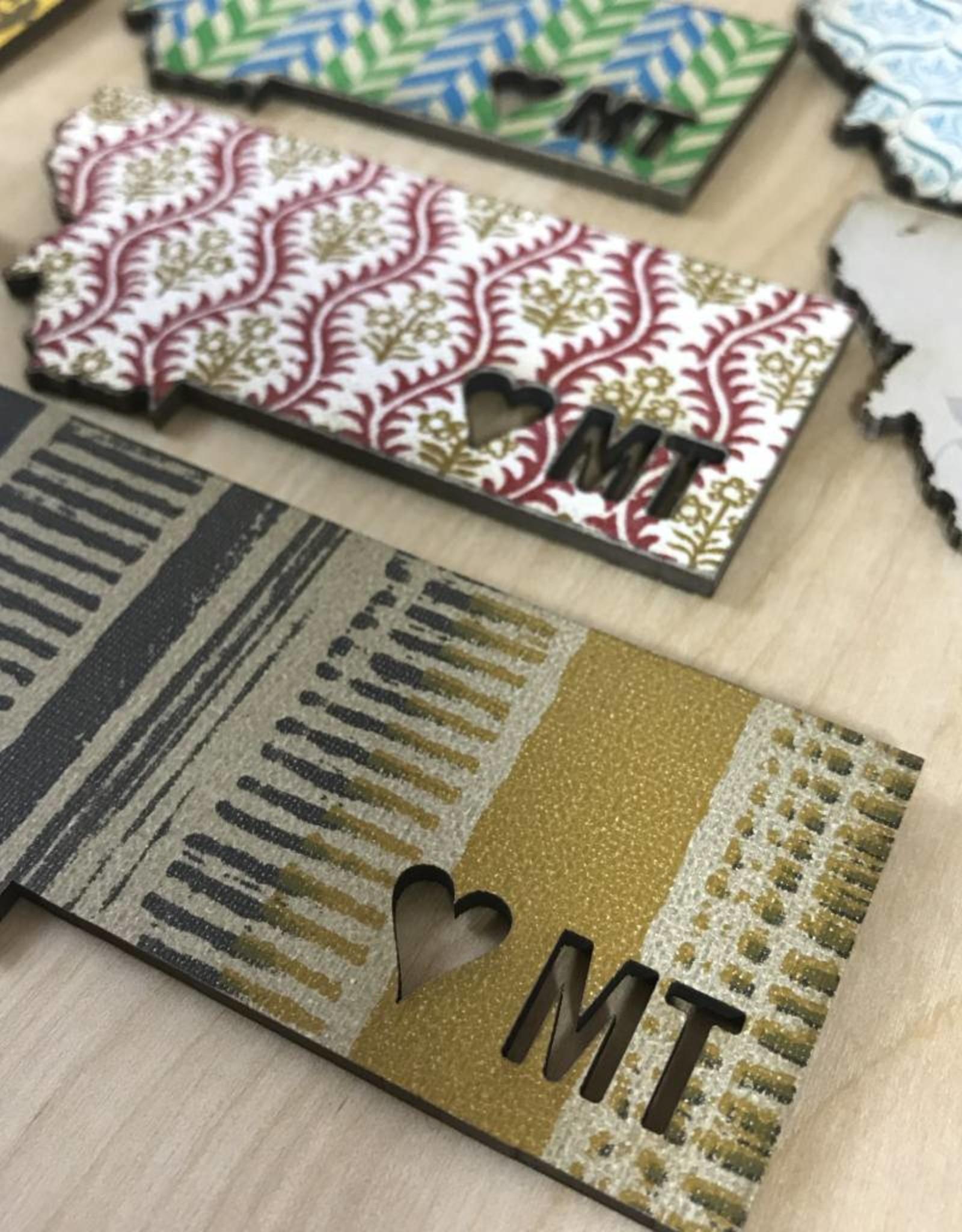 Montana Heart Magnet