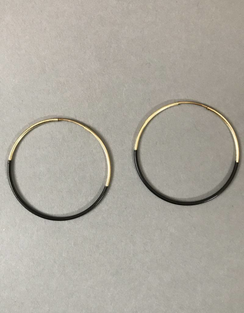 Earrings- Small Dipped Hoops