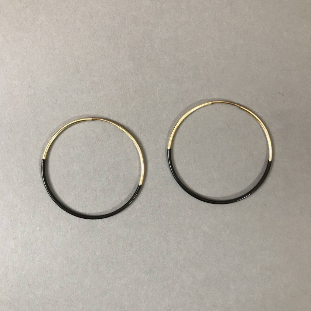Earrings- Small Dipped Hoops