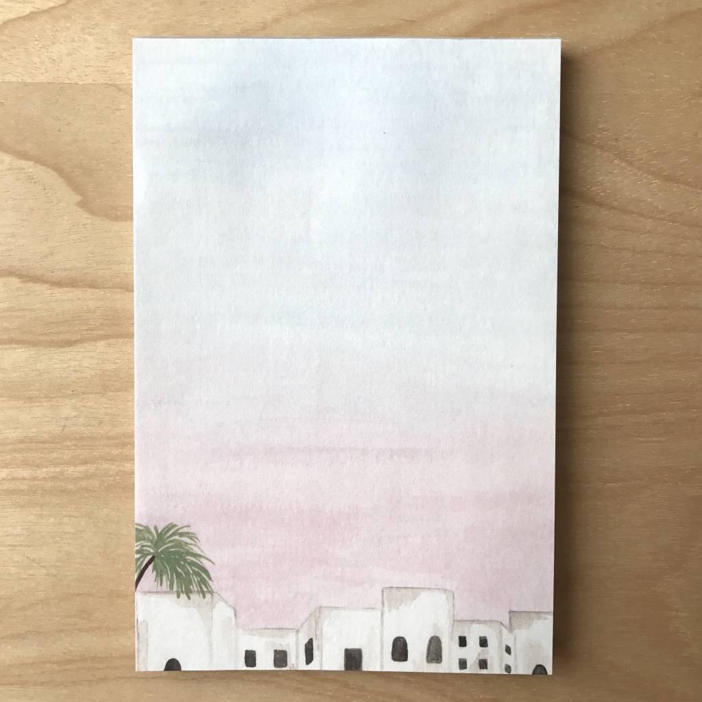 Pen+Pillar Notepad- Sunset City