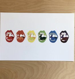 Christopher Sorenson Print- Chomp, Rainbow