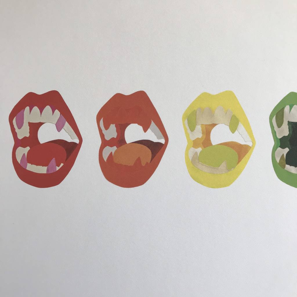 Christopher Sorenson Print- Chomp, Rainbow