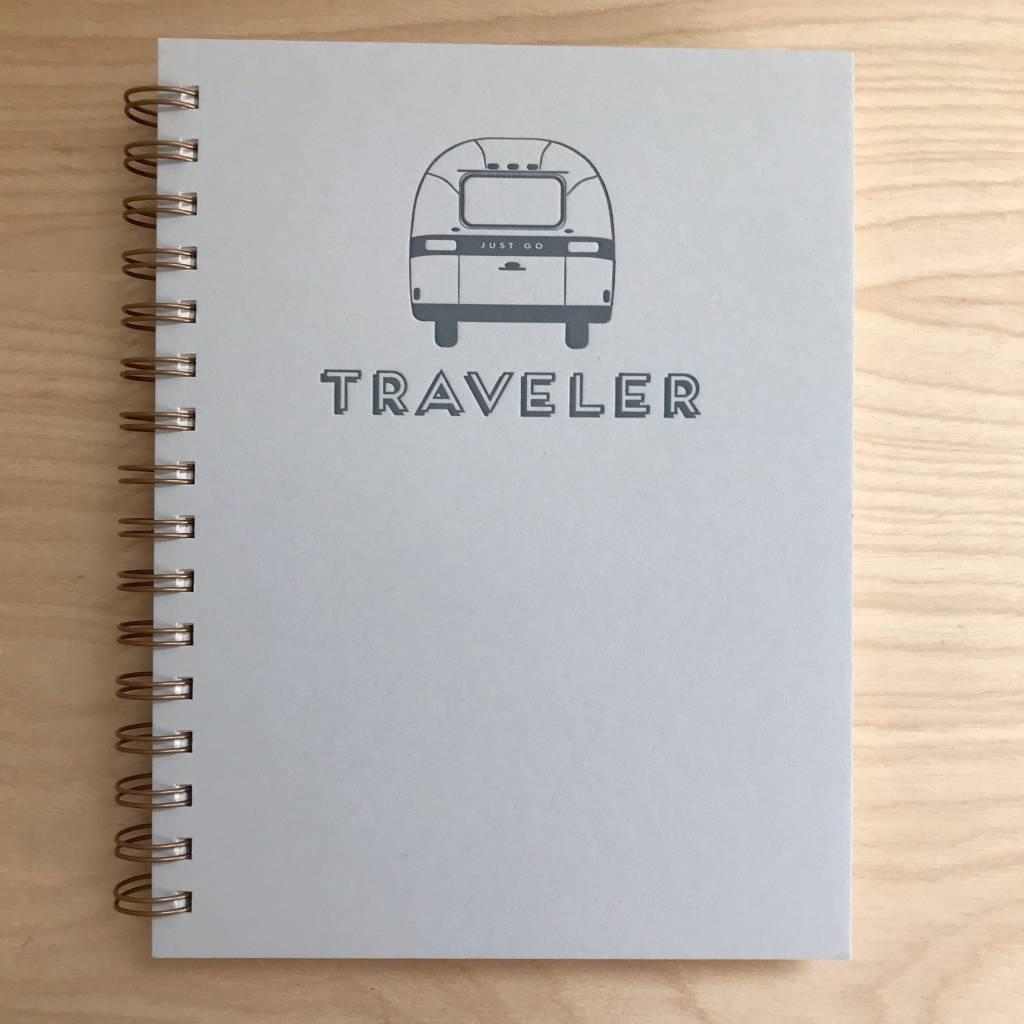 RUFF HOUSE ART Journal- Traveler
