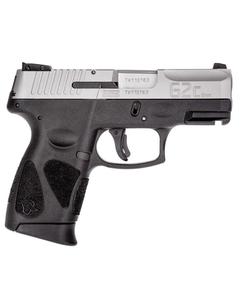 "Taurus 9mm Luger Single/Double 3.2"" 12+1 Black Polymer Grip Stainless Steel"