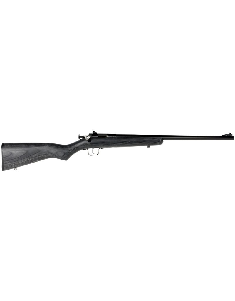 """Keystone Single Shot Bolt 22 Long Rifle (LR) 16.12"""" 1 Laminate Black Stk Blued"""