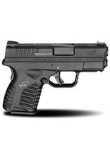 "Springfield XD-S EDC Package 9mm Luger Double 3.3"" 7+1/8+1 Black Interchangeable Backstrap Black Polymer Frame Black Melonite Slide"