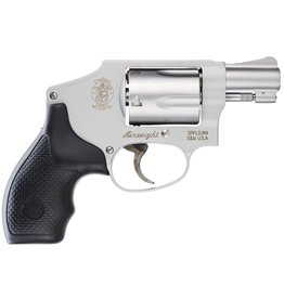 "Smith & Wesson Airweight Internal Hammer No Lock 38 Spl 1.87"" 5rd Syn Grip SS"