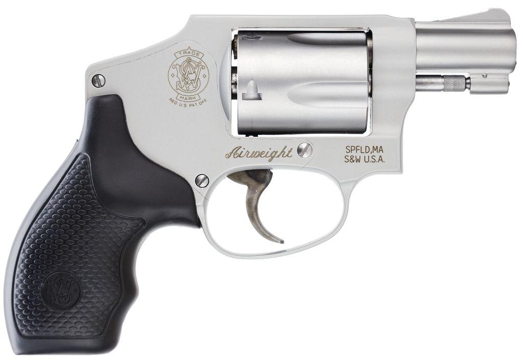 "Smith & Wesson Airweight Internal Hammer No Lock 38 Spl 1.87"" 5rd Syn Grip SS"
