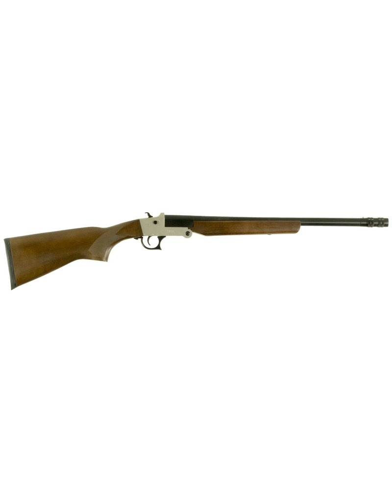 "Hatfield Youth Break Open 20 Gauge 20"" 3"" Wood Stk Silver"