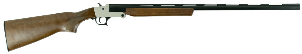 "Hatfield Break Open 410 Gauge 28"" 3"" Wood Stk Silver"